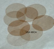 Mica Disc, protection mica, research mica